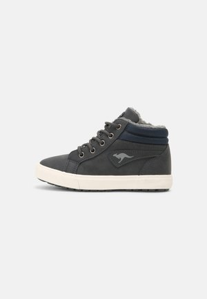 KAVU  - Sneakers hoog - dark navy/white