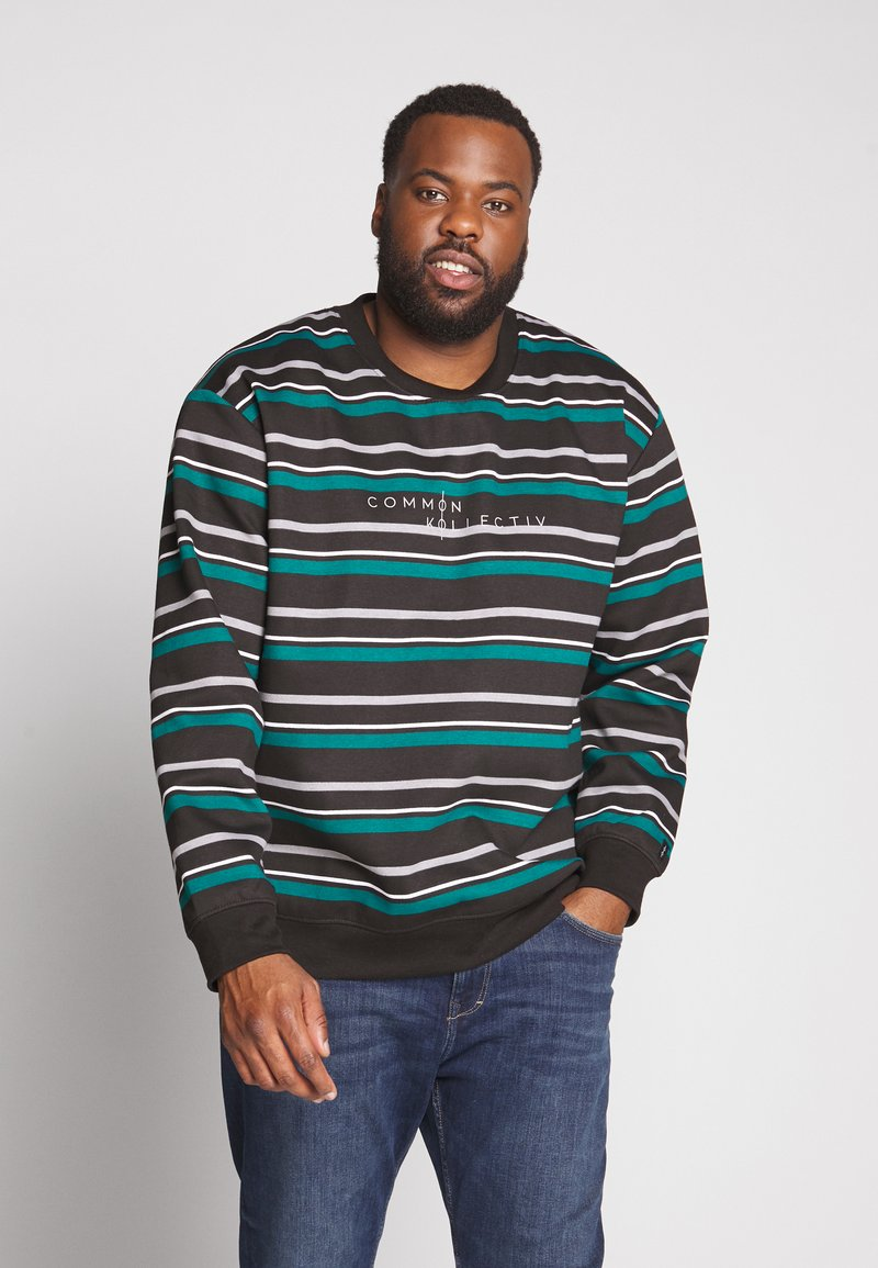 Common Kollectiv - GOLF CREW NECK - Sweatshirt - black