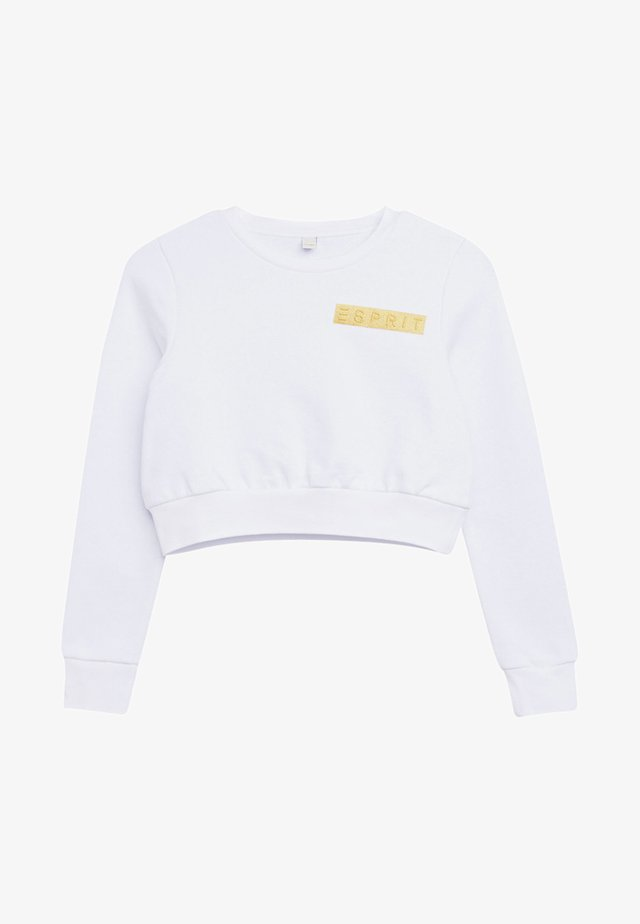 FOIL  - Sweatshirt - white