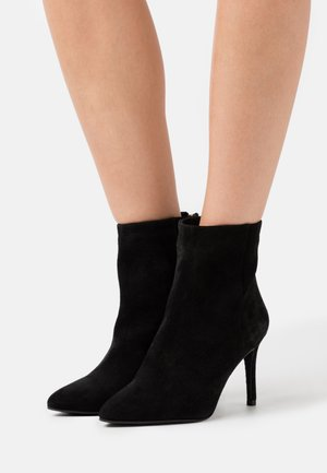 BIADANGER - High heeled ankle boots - black