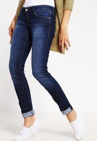 Mavi - LINDY - Slim fit jeans - dark indigo stretch - 3