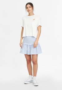 O'Neill - Pleated skirt - blue with white - 1