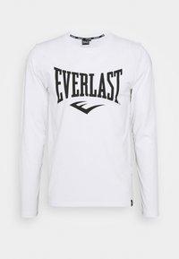 Everlast - TEE DUVALLE - Top sdlouhým rukávem - white - 0