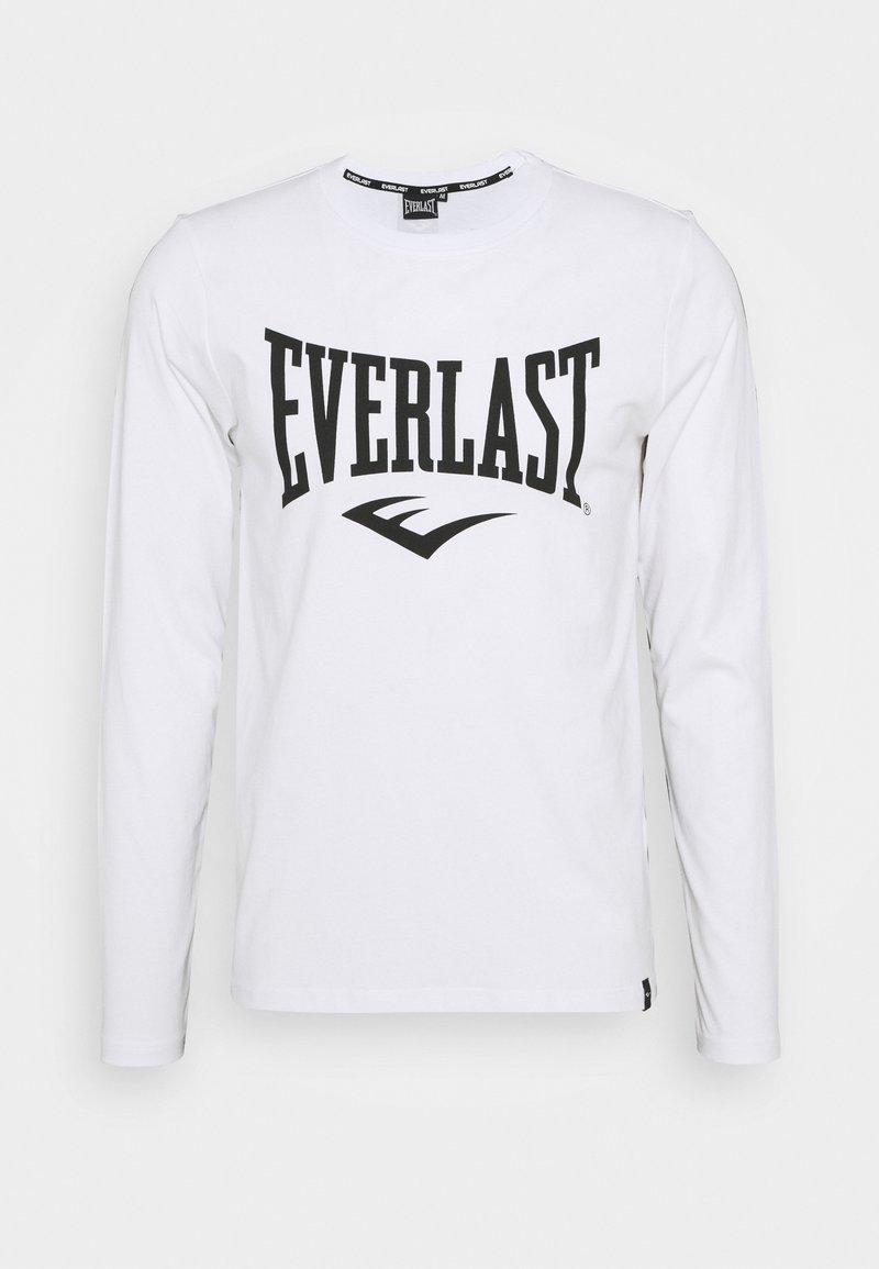 Everlast - TEE DUVALLE - Top sdlouhým rukávem - white