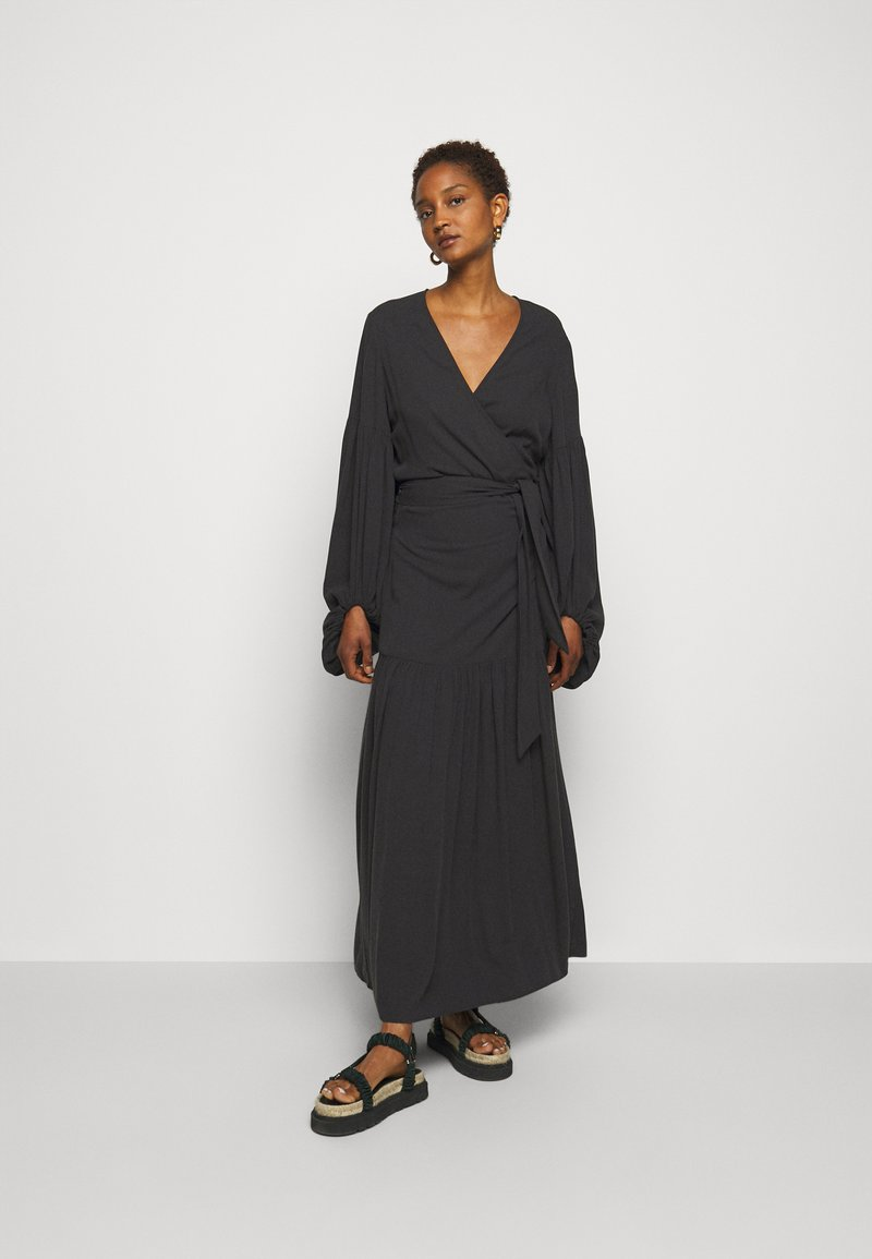 By Malene Birger - FRILLA - Maxi dress - black