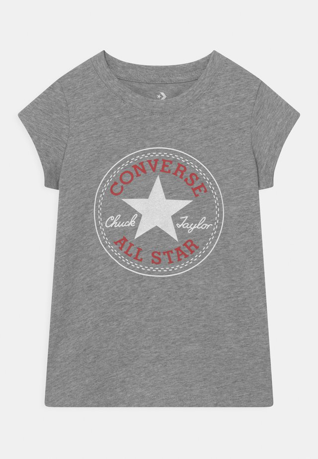 CHUCK PATCH  - Print T-shirt - dark grey heather