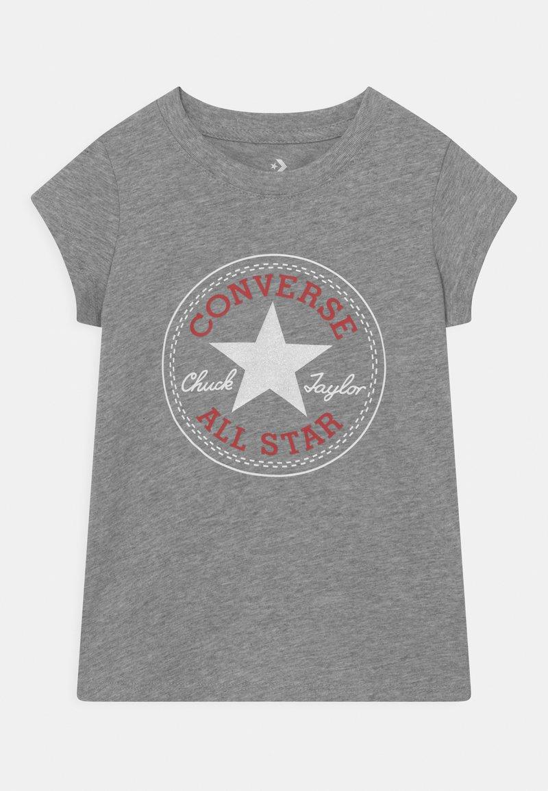 Converse - CHUCK PATCH  - Camiseta estampada - dark grey heather