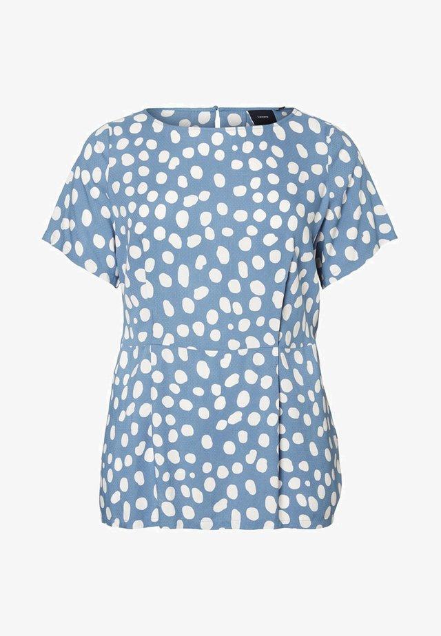 T-shirt z nadrukiem - copen blue