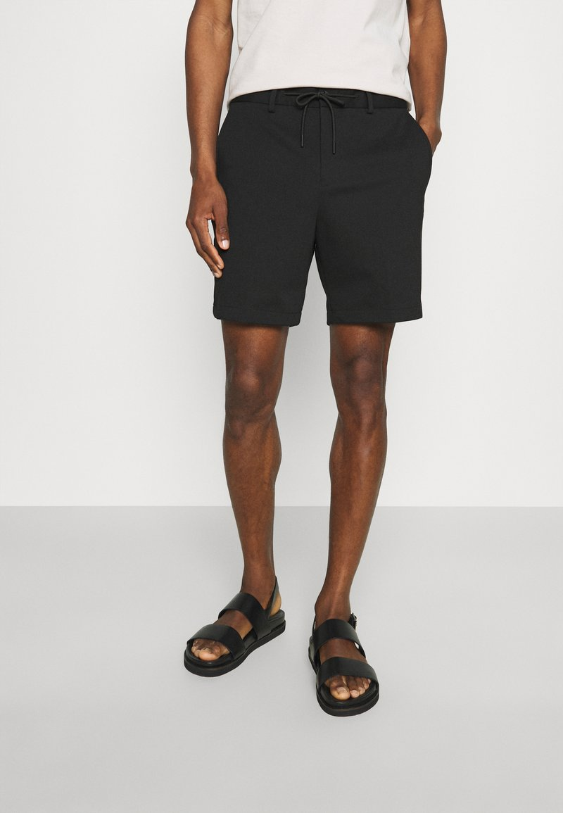 Selected Homme - SLHPETE STRING CAMP - Shorts - black