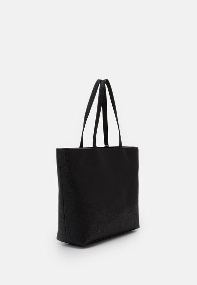 ZIP TOP - Borsa a mano - nero