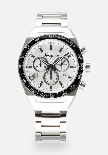 UNISEX - Zegarek chronograficzny - silver-coloured