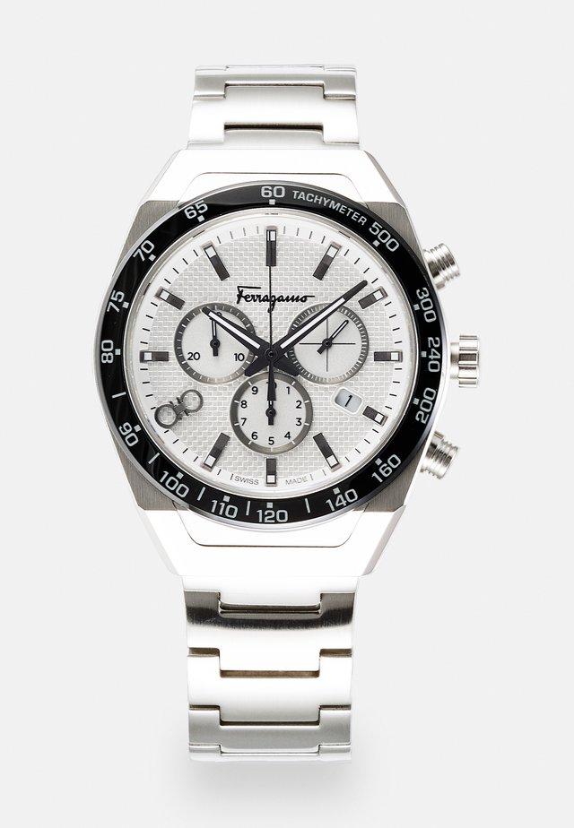 UNISEX - Kronografklockor - silver-coloured
