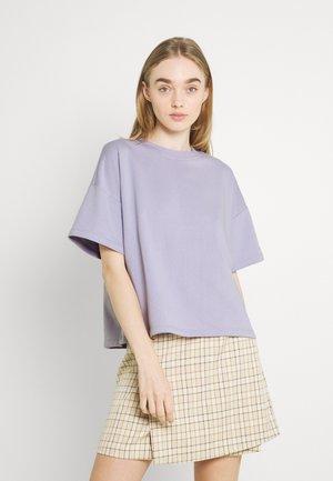 PCCHILLI SUMMER LOOSE - Basic T-shirt - purple heather