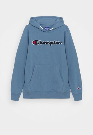 LOGO HOODED UNISEX - Mikina - blue-grey