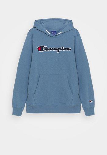 LOGO HOODED UNISEX - Sweatshirt - blue-grey