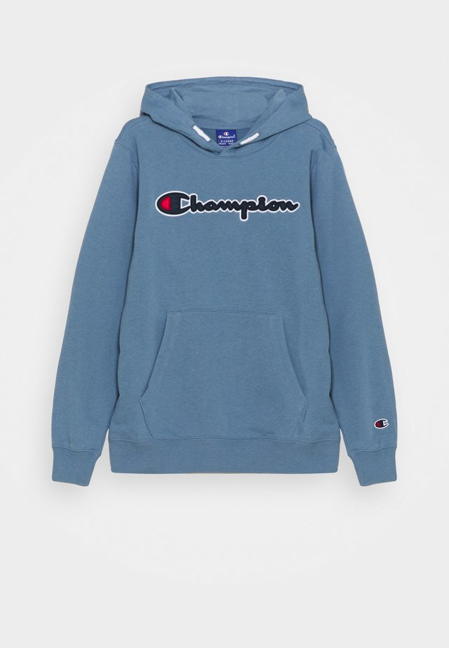 LOGO HOODED UNISEX - Sweatshirt - blue-grey