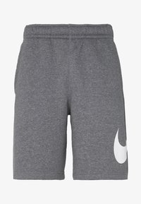 Nike Sportswear - Shorts - charcoal heathr/white - 3