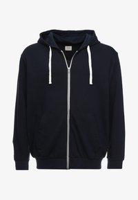Jack & Jones - JJEHOLMEN  ZIP HOOD PLUS - Zip-up hoodie - navy blazer - 3
