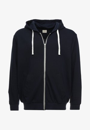 JJEHOLMEN  ZIP HOOD PLUS - Zip-up hoodie - navy blazer