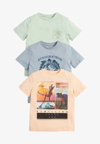 Next - 3 PACK  - T-shirt con stampa - multi-coloured - 0