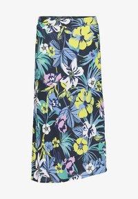 Betty Barclay - MIT AUFDRUCK - A-line skirt - dark blue/green - 3