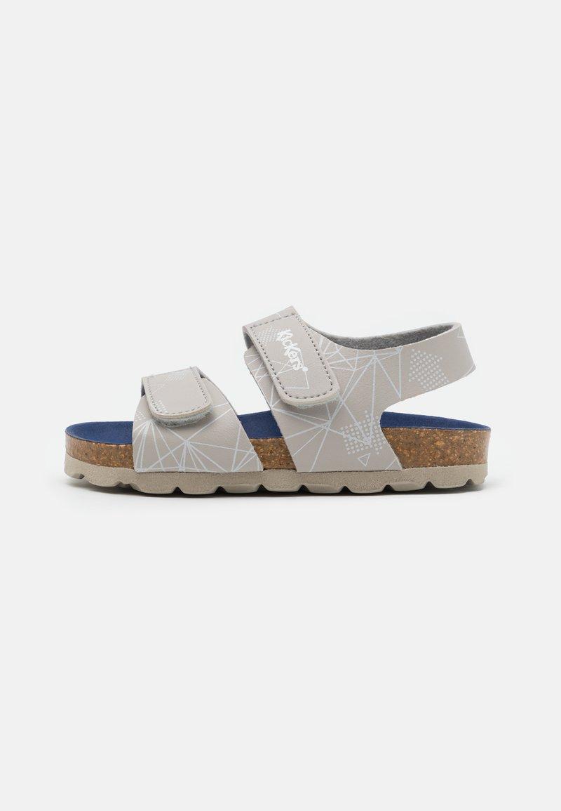 Kickers - SUMMERKRO - Sandals - gris galactic
