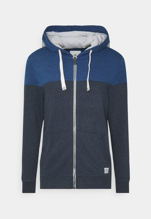 COLORBLOCK ZIPPER JACKET - Hoodie met rits - sky captain blue