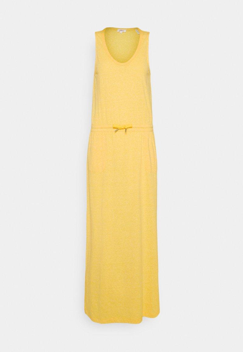 s.Oliver - Maxi dress - yellow melange