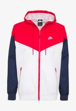 Veste coupe-vent - white/university red/midnight navy