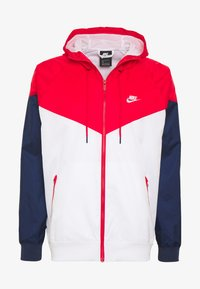 Nike Sportswear - Chaqueta fina - white/university red/midnight navy - 4