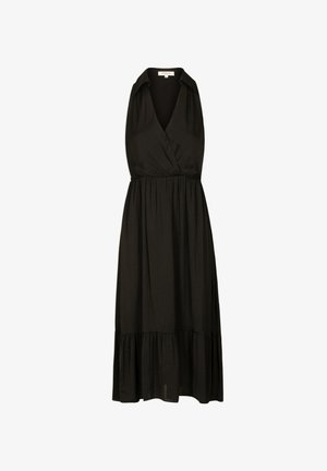 WITH RUFFLES - Day dress - black