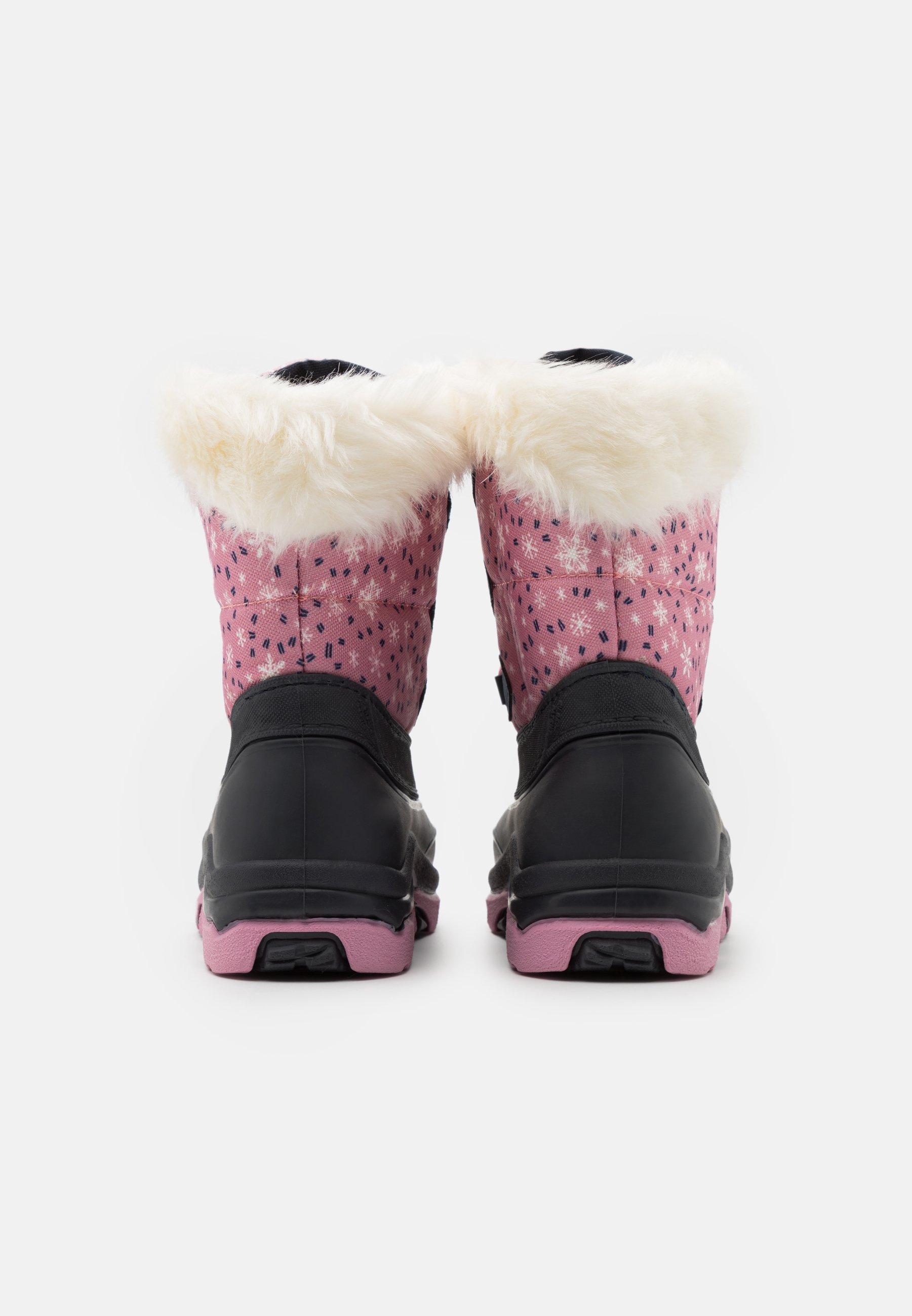 Friboo Vinterstövlar pink Zalando.se