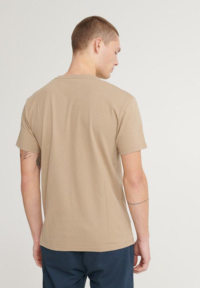 Superdry Kanji Outline - Camiseta Estampada Army Sand