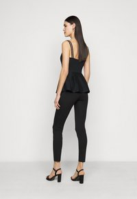 Even&Odd Tall - 5 pockets PUNTO trousers - Trousers - black - 2