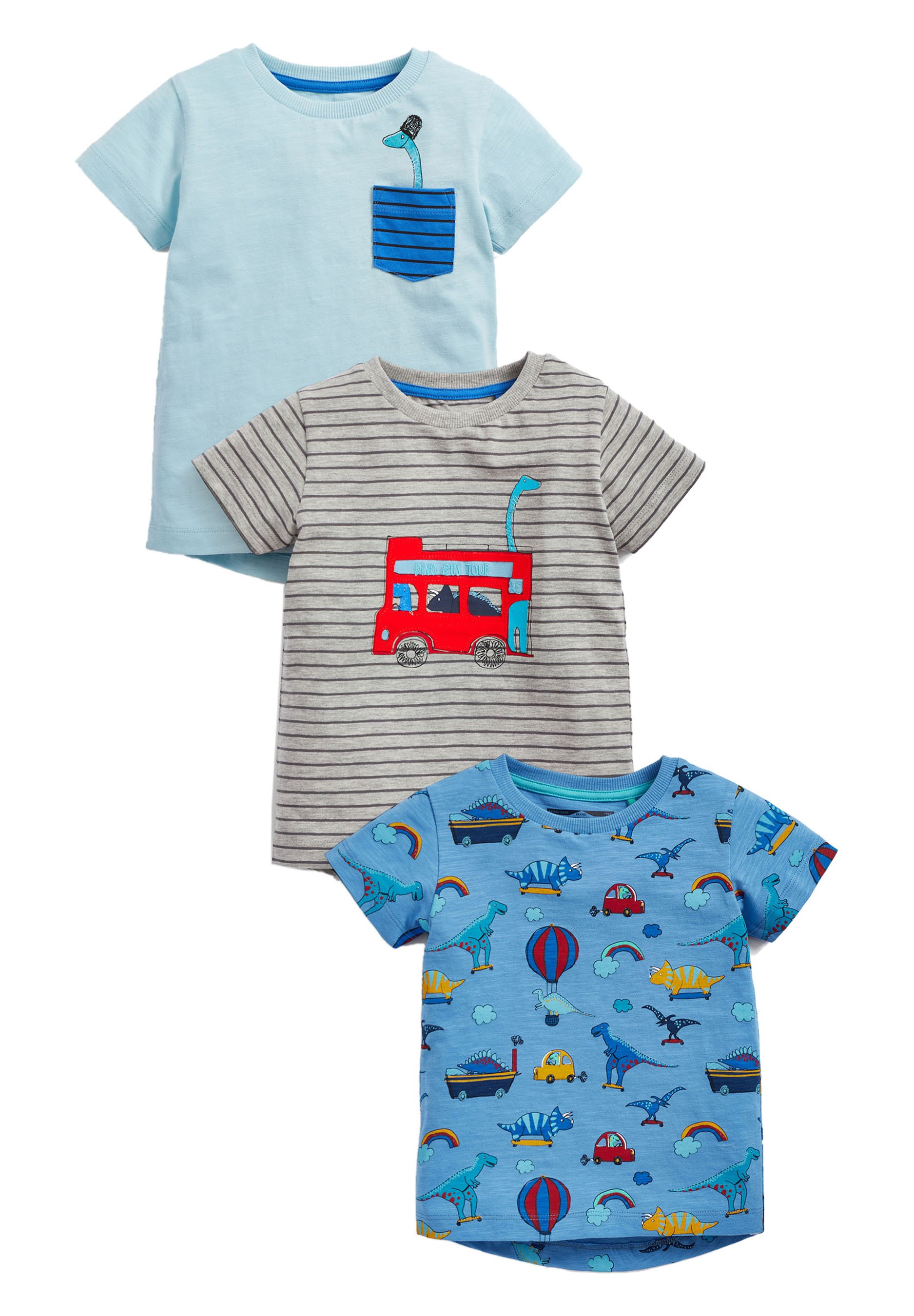 Kinder 3PACK - T-Shirt print