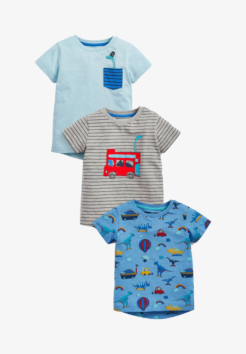 Next - 3PACK - Print T-shirt - multi coloured