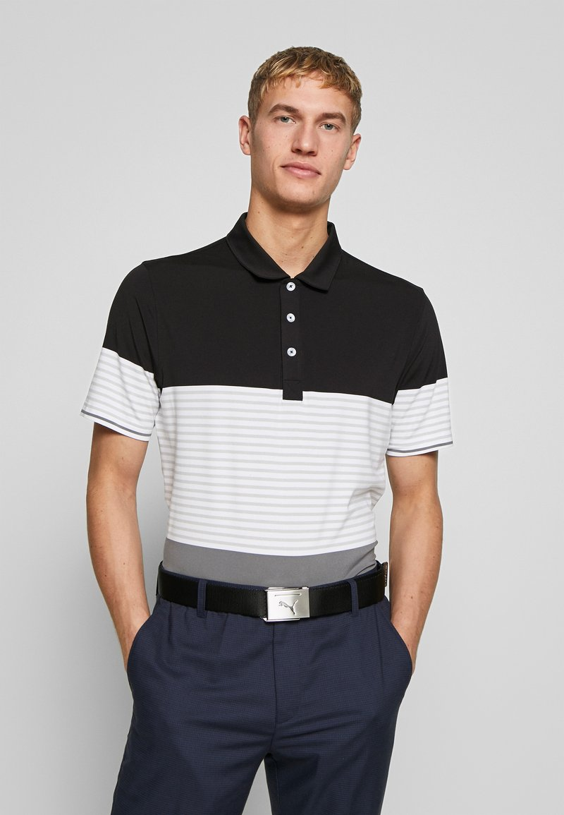 Puma Golf - TAYLOR - Polo shirt - black