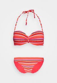 LASCANA - WIRE BANDEAU SET - Bikini - orange - 5