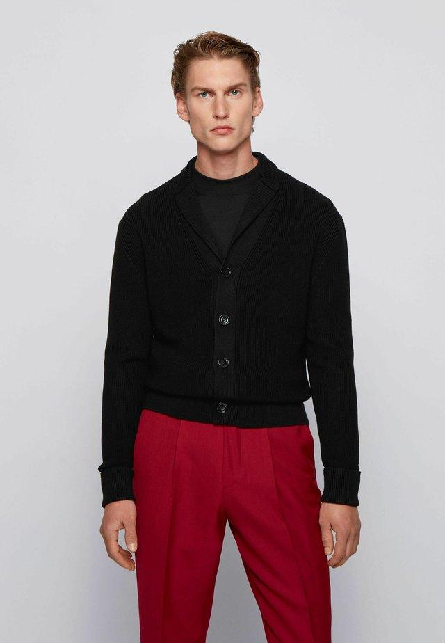 Strickjacke - black