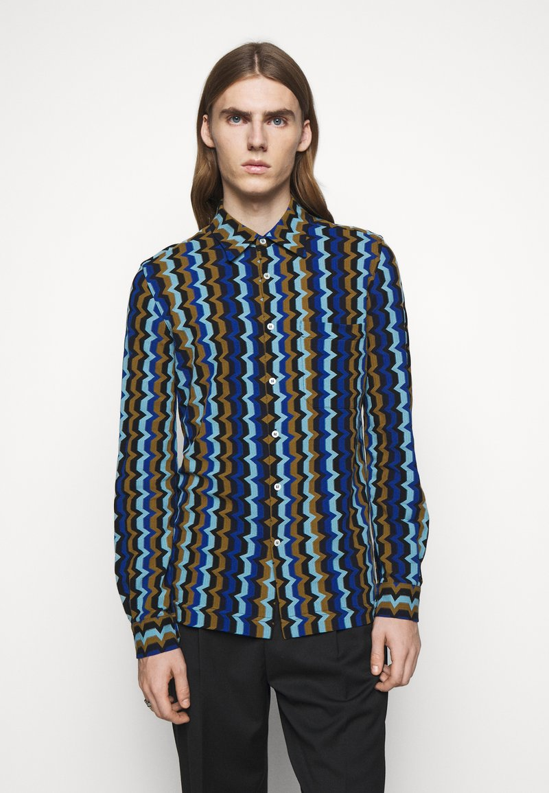 Missoni - LONG SLEEVE - Camicia - blue