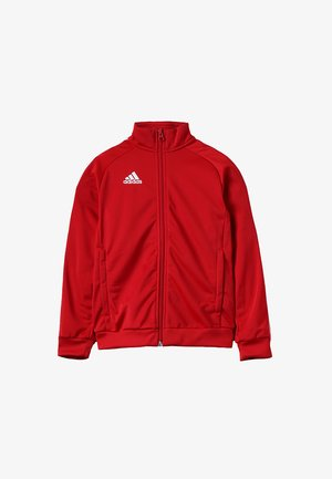 CORE 18 FOOTBALL TRACKSUIT JACKET - Sportovní bunda - power red/white