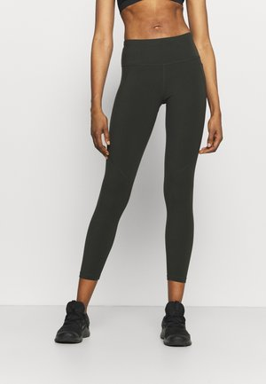 POWER WORKOUT 7/8 LEGGINGS - Collants - dark forest green
