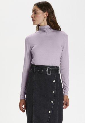 SOAKED IN LUXURY SLHANADI ROLLNECK LS - Sweater - nirvana