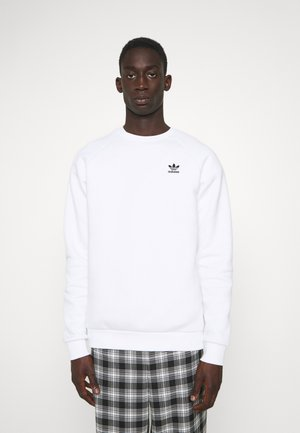 ESSENTIAL CREW - Sweatshirts - white
