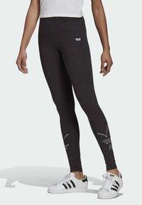 adidas Originals - Legging - black melange - 0