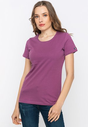 Jednoduché triko - purple