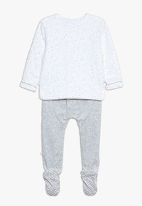 mothercare - BABY VELOUR SET - Sweater - white - 1