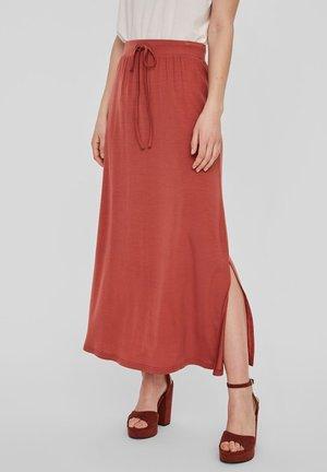 Maxi skirt - marsala