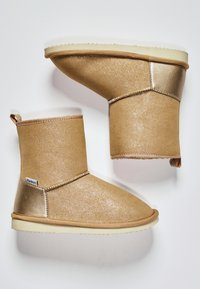 Pepe Jeans - SHINY - Winter boots - golden - 1