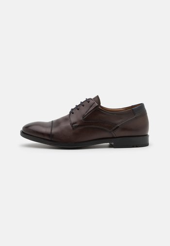 KAJO - Elegantní šněrovací boty - testa di moro/ocean